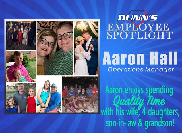 Employee Spotlight – Aaron Hall