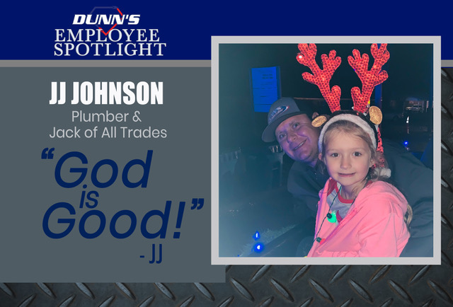 Employee Spotlight – J.J. Johnson