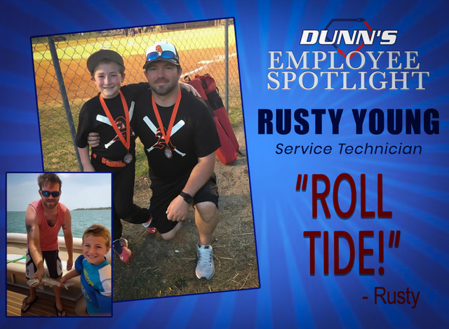Employee Spotlight – Rusty Young