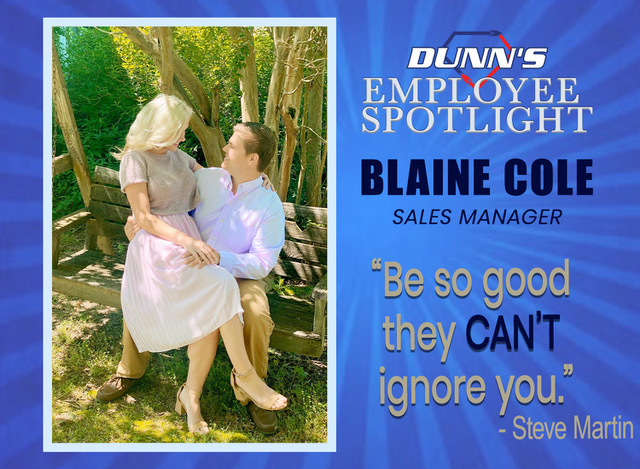 Employee Spotlight – Blaine Cole